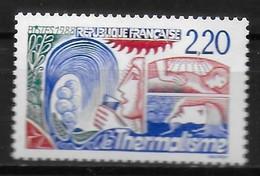 FRANCE  N°  2556  * *  Thermalisme - Termalismo