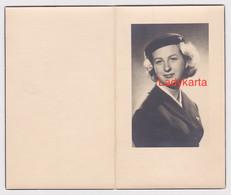 AIR HOSTESS SABENA SLACHTOFFER VLIEGTUIGONGEVAL IN BERG 1961 - JACQUELINE MARIE-JEAN ROMBAUT °AALST 1935 - Imágenes Religiosas