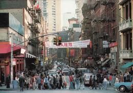 Etats Unis New York City Chinatown (Carte Vierge) - Altri