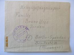 Frankreich Kriegsgefangenenpost 1946 Brienne Le Chateau, Le Bar (52567) - Militaria