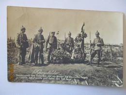 Belgien Lüttich Soldatengrab Des Fahnenträgers, Feldpost 111. ID 1916 (39349) - Weltkrieg 1914-18