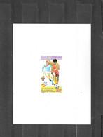 Benin - 1981 , Voetbal - Zegel Deluxe - Bénin – Dahomey (1960-...)