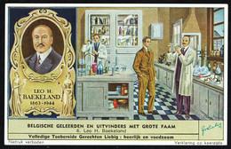 LIEBIG - NL - 1 Chromo N° 6 - Reeks/série S.1602 - BELGISCHE GELEERDEN EN UITVINDERS MET GROTE FAAM: Leo H. BAEKELAND.. - Liebig