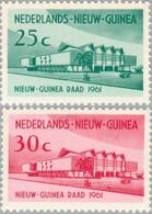 Nederlands Nieuw Guinea 1961 Eerste Zitting Nieuw Guinea Raad, MH - Nouvelle Guinée Néerlandaise