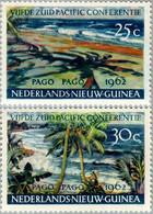 Nederlands Nieuw Guinea 1962 South Pacific Conference, MNH**, Luxe Postfris - Nouvelle Guinée Néerlandaise