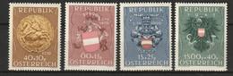 Österreich, Austria  1949 Mi. 937-940 MNH ** See Description - 1945-60 Unused Stamps