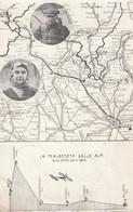 Aviazione  - La Traversata Delle Alpi - Settembre 1910  - F. Piccolo - Viagg - Molto Interessante - Riunioni