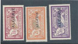 ALGERIE - N° 29+31/32 NEUFS* AVEC CHARNIERE - COTE : 8€35 - 1924/25 - Ongebruikt