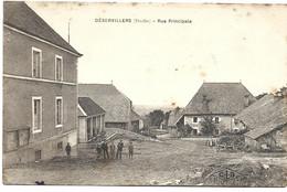 Déservillers : Rue Principale - Otros Municipios