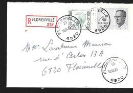Belgique Lettre Du 10 04 1985 De Florenville - Lettres & Documents