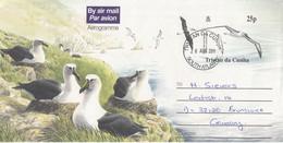 Tristan Da Cunha 2011 Aerogramme Albatross Used Ca Tristan Da Cunha 26 AUG 2011 (F8714) - Tristan Da Cunha