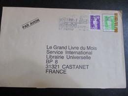 Lettre De ST PIERRE MPQUELON Belle Flamme - 1961-....