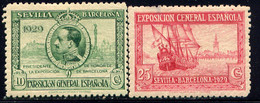 SPAIN, NO.'S 348 AND 351, MH - Nuovi