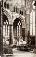 """Lincoln Cathedral, Lady Chapel 1908 (Queen Series-T.T&S) Good Postal  Franking-""""Lincoln 4"""" - Lincoln"""