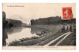 (93) 434, Noisy Le Grand, La Marne Pittoresque 14, Un Coin Pittoresque, Artiste Peintre - Noisy Le Grand