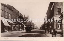 ROCHDALE  YORKSHIRE STREET OLD R/P POSTCARD LANCASHIRE - Altri