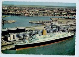 Y11915/ Bremerhaven Columbus-Bahnhof Dampfer MS BRemen AK 1969 - Cargos