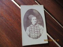Oberhardt Oran  Cliche Photo Portrait Cdv Militaire Armee Coloniale - Personnes Anonymes
