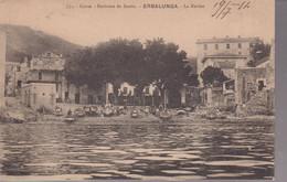 CPA Erbalunga ( Haute Corse ) La Marine - Circulée 1914 - Sonstige Gemeinden