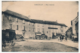 CPA - NAUCELLE (Aveyron) - Place Centrale - Sonstige Gemeinden