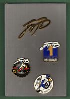 MOTO *** JMB *** COFFRET 4 Pin's *** 2123 (16) - Motorräder