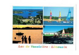 Cpm - 87 - Lac De Vassivière - Auphelle Vedettes De L'Escale Catamarans Petit Train Tennis - DEBAISIEUX - Altri Comuni