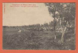 MAROC - LEGION ETRANGERE - COMPAGNIE MONTEE DANS LE FORÊT - CAMPAGNE DU MAROC 1907-1911 - Nombreux Cavaliers - Chiens - Other