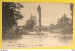 CPA - VILLANDRAUT - Les Chutes Du Ciron Au Grand Barrage - Other Municipalities