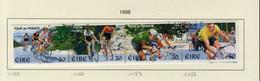 Irlande O N° Yv 1085, 1086, 1087, 1088; Mi 1076, 1077, 1078, 1079; SG 1177a; Tour De France - Gebraucht