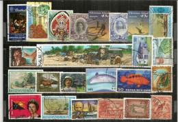 Timbres Des ILES (Turks & Caicos,Christmas,Belize,Trinidad & Tobago,Nauru,Belize,Papua,Tonga,etc) # 4 - Lots & Kiloware (max. 999 Stück)