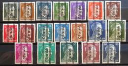 Österreich 1945, Grazer Aushilfsausgabe Mi 674-92 MNH Postfrisch (einige Werte Geprüft) - 1945-60 Unused Stamps