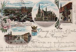Souvenir De Nancy-1901 - Nancy