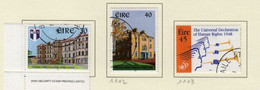 Irlande O N° Yv 1101, 1102, 1103; Mi 1096, 1097,1098; SG 1197, 1198, 1199. - Gebruikt