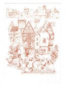 Cpm - 89 - NOYERS SUR SEREIN - Fête De La Misuqie Traditionnelle Cité Médiévale - DANSEURS Folklore Vielle Violon Mandol - Noyers Sur Serein
