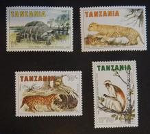 "TANZANIE YT 255/258 NEUFS**MNH ""ANIMAUX"" ANNÉE 1985 - Tanzania (1964-...)"