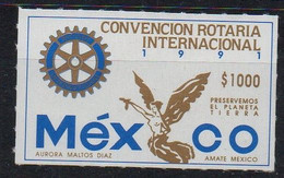 MEXIQUE - MEXICO - 1991 - ROTARY CONVENTION - CONVENTION ROTARY - ROTARY - - Mexique