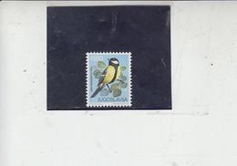 JUGOSLAVIA  1974 - Yver  1443** - Uccelli -.- - Sparrows