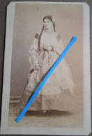 1870 Roumanie Noblesse Roumaine Photo CDV Duschek Bucarest - Guerra, Militari