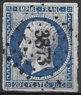 TP14,obl.,PC3873,Offranville(SEINE-INFERIEURE),ind.7 - 1849-1876: Klassik