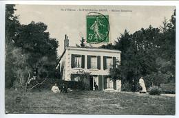 CPA1913 * ILE D'OLÉRON SAINT TROJAN Les BAINS  Maison Forestière ( Animée ) - Ile D'Oléron