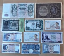 Lot De 11 Billets Etrangers En Bon état De NEUFS à TTB (voir Scan) H - Non Classés