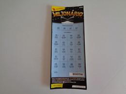 Loterie Lottery Loteria Lotaria Instant Instantânia Raspadinha Jogo Nº 453 Milionário Portugal - Loterijbiljetten