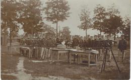 BOURG LEOPOLD - Camp De BEVERLOO - Les Officiers Au Tir Au Fusil - RARE Carte Photo - Barracks