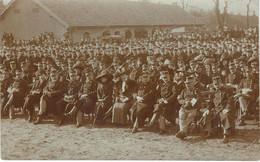 """BOURG LEOPOLD - Camp De BEVERLOO - Une Prise D""""arme - RARE Carte Photo - Cachet De La Poste 1911 - Barracks"""