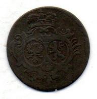 GERMAN STATES - SAYN-ALTENKIRCHEN, 1/4 Stuber, Copper, Year 1754, KM #C2 - Petites Monnaies & Autres Subdivisions