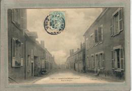 CPA - (18) HENRICHEMONT - Aspect De La Traversée Du Bourg Par La Rue D'Anjou En 1905 - Henrichemont