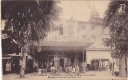 SANARY - Le Bar Tabac Et Le Café Restaurant De La Marine - Sanary-sur-Mer
