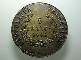 Token Cartaux 5 Francs 1908 - Non Classés