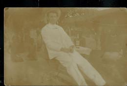 Photo-carte ??  Obl. BANDUNDU (en Bleu) 21/05/?? Pour Blankerberge 24/06/1913 - 1923-44: Lettres