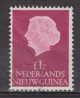 Nederlands Nieuw Guinea 37 Used ; Juliana 1954 ; NOW ALL STAMPS OF NETHERLANDS NEW GUINEA - Nouvelle Guinée Néerlandaise